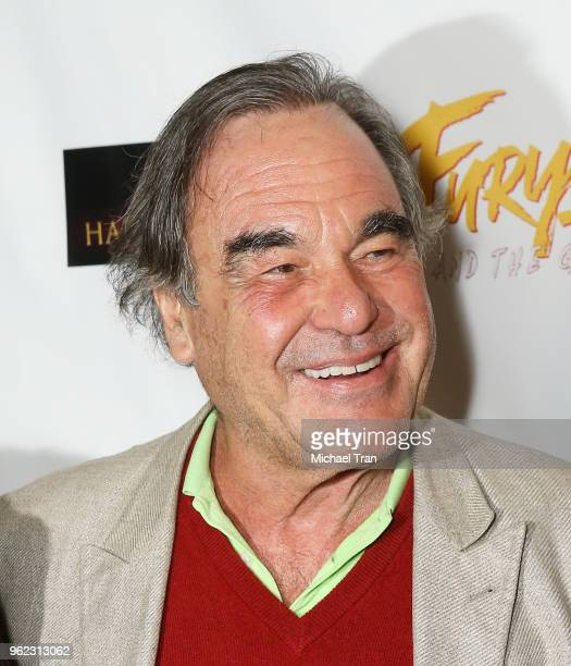 Oliver Stone attends the Los Angeles premiere of Comedy Dynamics' The Fury Of The Fist And The Golden Fleece held at Laemmle's Music Hall 3 on May 24...