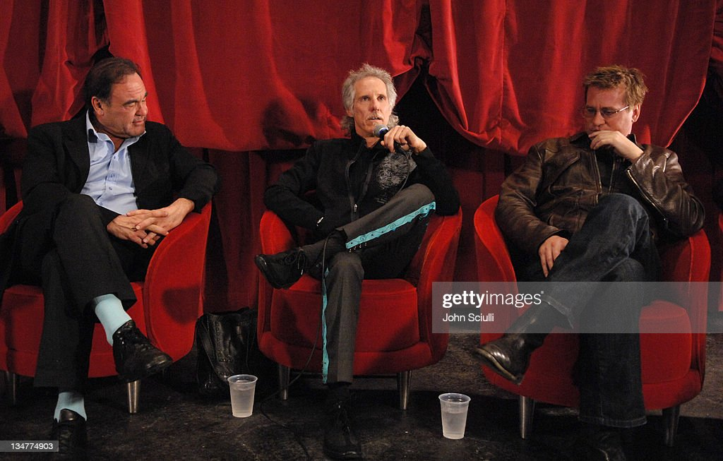 Oliver Stone director John Densmore of The Doors and Val Kilmer in  sc 1 st  Getty Images & 15th Anniversary of