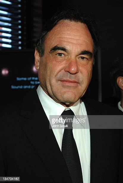 """Oliver Stone during 2006 Cannes Film Festival - """"Platoon"""" Cocktail Party at Hotel Majestic in Cannes, France."""