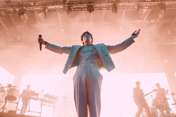 GBR: Bring Me The Horizon Perform At Motorpoint Arena, Cardiff