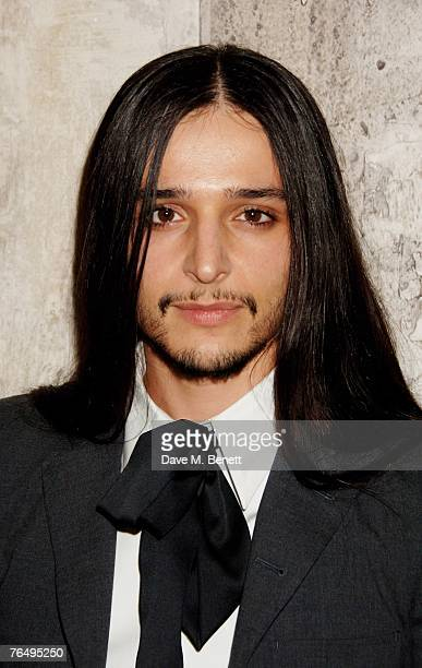 Oliver Theyskens arrives at the launch party of the Nina Ricci Boutique, at Harvey Nichols on September 3, 2007 in London, England.
