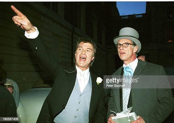 """Oliver Tobias, Bruder Benedict Freitag,;Hochzeit von Oliver Tobias,;Großbritannien, England, London, """"The;little Bromton Oratory"""",..."""