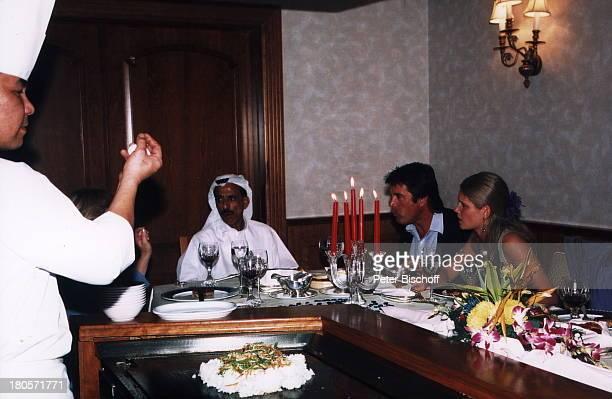 Oliver Tobias Ehefrau Arabella Khalef Alhabtoor Koch Vereinigte Arabische Emirate Dubai Hotel Metropolitan Flitterwochen Essen