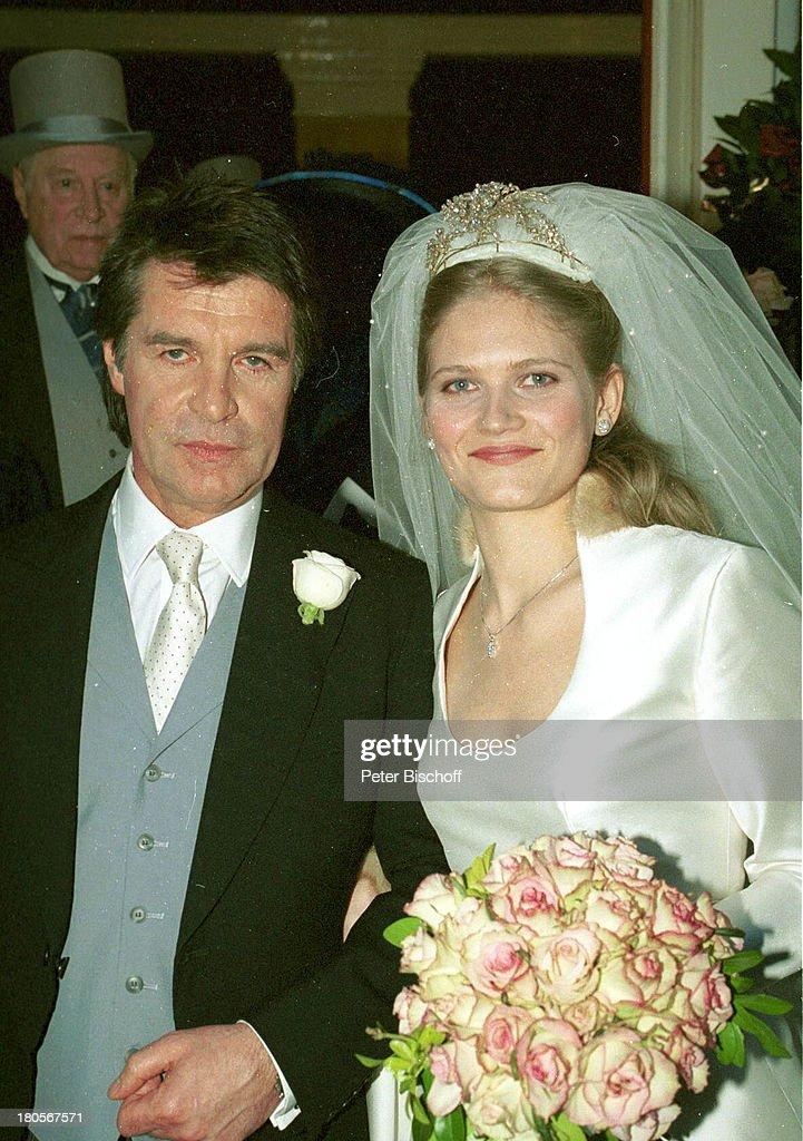 Oliver Tobias, Ehefrau Arabella Zamoyska,;Hochzeitsgesellschaft ...