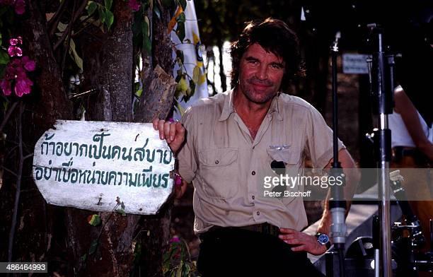 Oliver Tobias ZDFSerie Verschollen in Thailand Folge 1 Dunkle Schatten am Insel Koh Samui Thailand