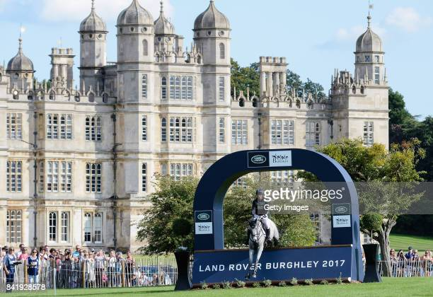 Oliver Townend of Great Britain riding Ballaghmor Class during Day Three of The Land Rover Burghley Horse Trials 2017 on September 2 2017 in Stamford...