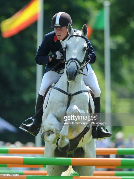 Oliver Townend riding Flint Curtis during the Bramham International Horse Trials Bramham Leeds