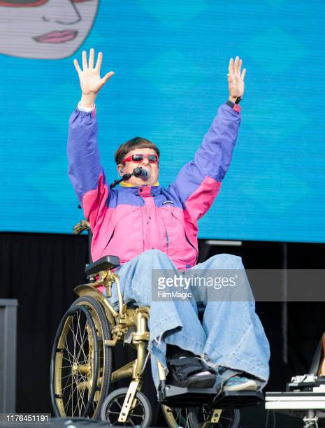 Oliver Tree performs during the 2019 Life Is Beautiful Festival Bacardi Day 3 on September 22 2019 in Las Vegas Nevada