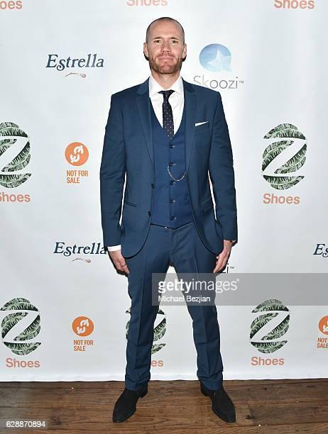 Oliver Trevena arrives at Not For Sale x Z Shoes Benefit at Estrella Sunset on December 9, 2016 in West Hollywood, California.