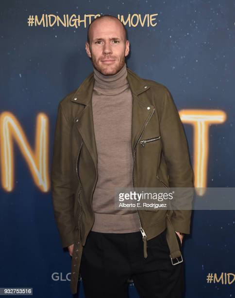 Oliver Trevena attends Global Road Entertainment's world premiere of 'Midnight Sun' at ArcLight Hollywood on March 15 2018 in Hollywood California
