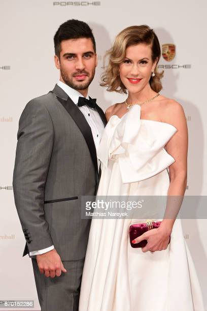 Oliver Vaid and Wolke Hegenbarth attend the Leipzig Opera Ball on November 4 2017 in Leipzig Germany