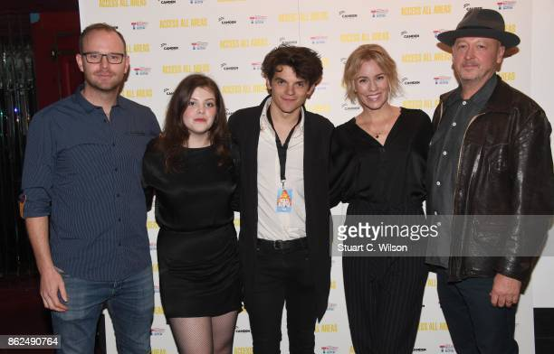 Oliver Veysey, Georgie Henley, Edward Bluemel, Simone Mccauley and Bryn Higgins arrive at the 'Access All Areas' VIP gala screening held at Proud...