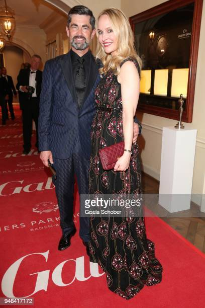 Oliver Wirtz Anne MeyerMinnemann during the Gala Spa Awards at Brenners ParkHotel Spa on April 14 2018 in BadenBaden Germany