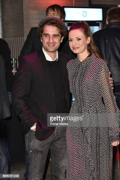 Oliver Wnuk and Julia Hartmann during the Medienboard PreChristmas Party at Schwuz at Saeaelchen on December 7 2017 in Berlin Germany