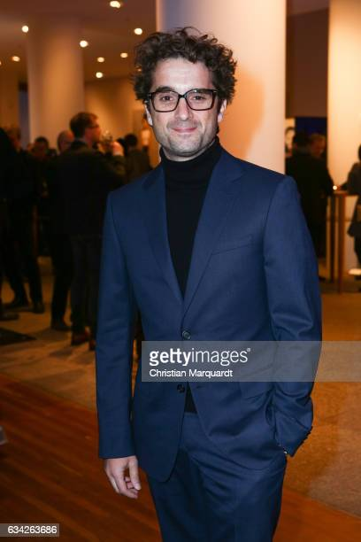 Oliver Wnuk attends the Opening Reception Of Deutsche Produzentenallianz at Representation of the state of Baden-Wuerttemberg on February 8, 2017 in...