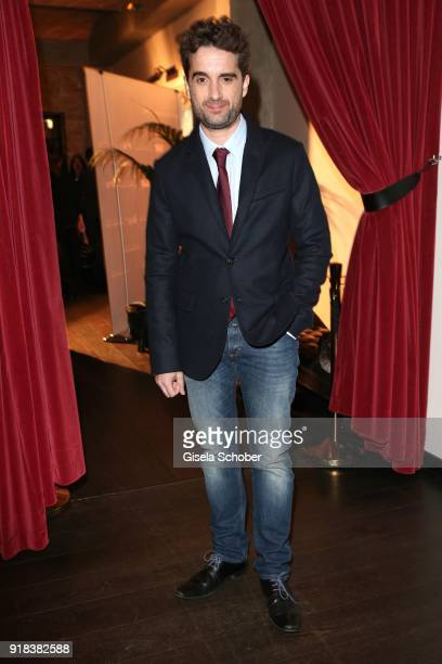 Oliver Wnuk during the FreundeskreisDinner at Restaurant Grace in the Hotel Zoo on February 14 2018 in Berlin Germany On the occasion of the 68...