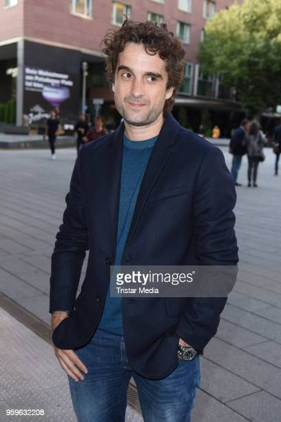 Oliver Wnuk during the premiere of 'Flying Illusion' on at Theater am Potsdamer Platz on May 17 2018 in Berlin Germany
