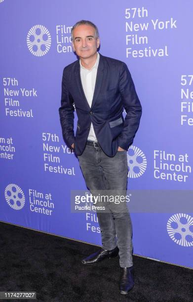 Oliverier Assayas attends Wasp Network premiere during 57th New York Film Festival at Lincoln Center Alice Tully Hall