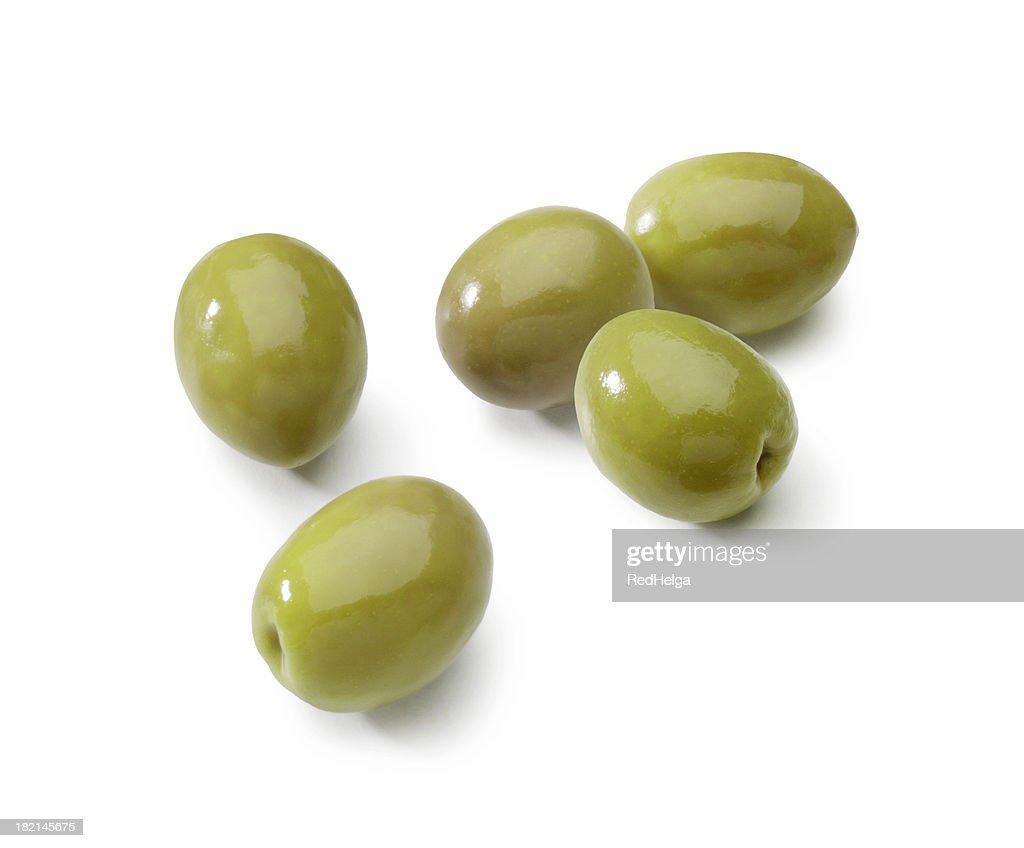 Olives isolated : Stock Photo