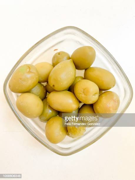olives - green olive stock photos and pictures