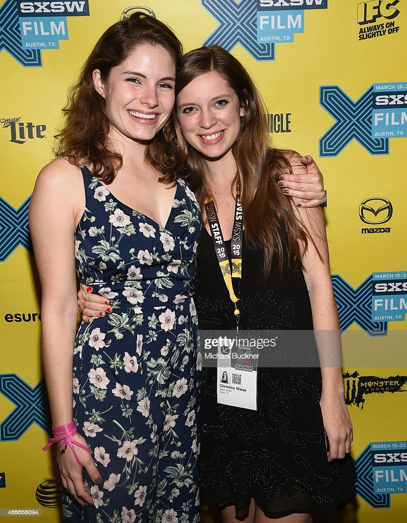Olivia Applegate (L) and Christine Wiese pose during the SXSW FIlm Awards at the 2015 SXSW Music, FIlm + Interactive Festival at the Paramount Theatre on March 17, 2015 in Austin, Texas.