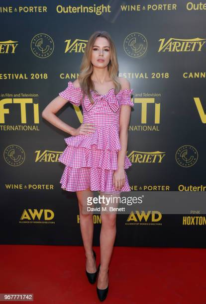 Olivia Arben attends as WIFT International with Variety Alliance of Women Directors host a cocktail party during the 71st Cannes Film Festival...