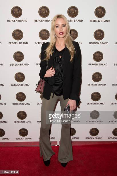 Olivia Arben attends Bergen Brand Handbag Launch At Wolf Badger on March 16 2016 in London England