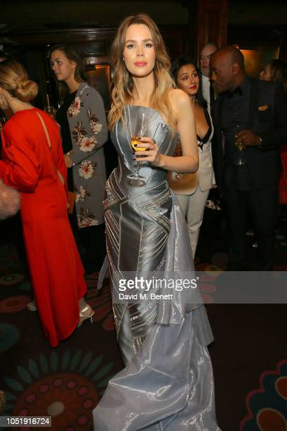 Olivia Arben attends the International Day of the Girl Child Charity Event At The Original Annabel's hosted by The Bardou Foundation at Annabel's on...