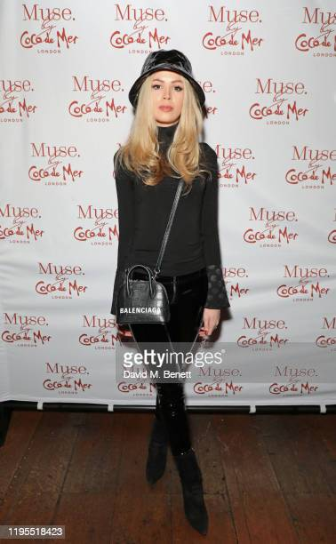 Olivia Arben attends the launch of Muse by Coco De Mer at Sketch on January 23 2020 in London England