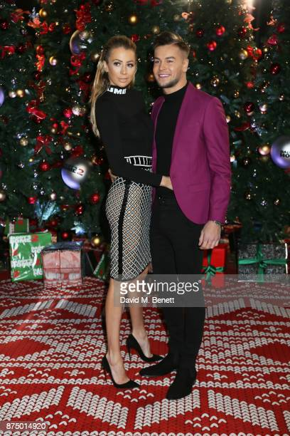 Olivia Attwood and Chris Hughes attend the UK Premiere of 'Daddy's Home 2' at the Vue West End on November 16 2017 in London England