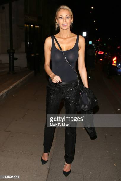Olivia Attwood attending the Broadcast Awards on February 7 2018 in London England