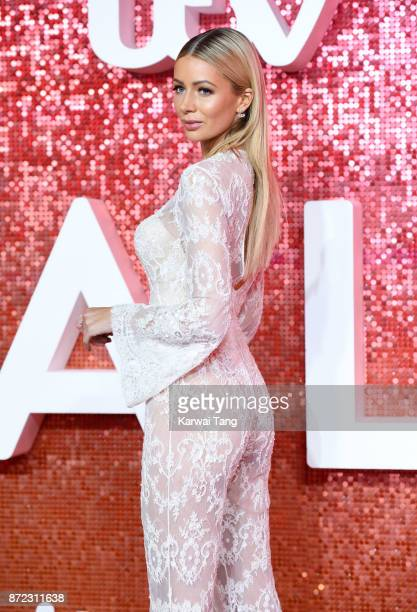 Olivia Attwood attends the ITV Gala at the London Palladium on November 9 2017 in London England