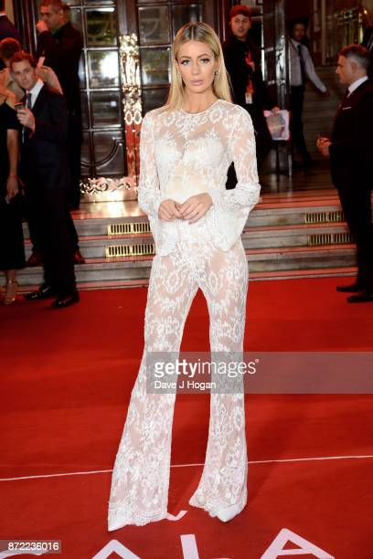 Olivia Attwood attends the ITV Gala held at the London Palladium on November 9 2017 in London England
