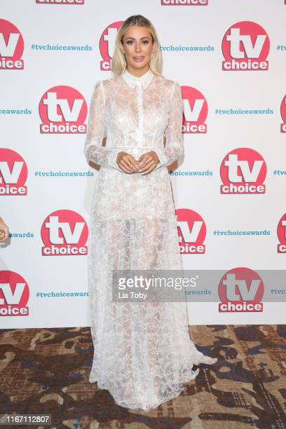 Olivia Attwood attends The TV Choice Awards 2019 at Hilton Park Lane on September 9 2019 in London England