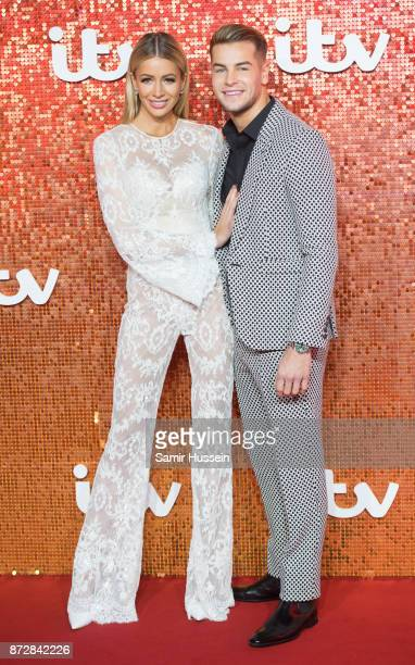 Olivia Attwood Chris Hughes arriving at the ITV Gala held at the London Palladium on November 9 2017 in London England