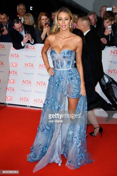 Olivia Attwoods attend the National Television Awards 2018 at The O2 Arena on January 23 2018 in London England