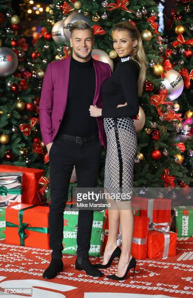 Olivia Atwood and Chris Hughes attend the UK Premiere of 'Daddy's Home 2' at Vue West End on November 16 2017 in London England
