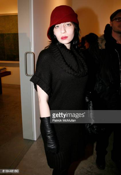 Olivia Baseman attends ERWIN OLAF Opening Reception at Hasted Hunt Kraeutler on January 28 2010 in New York