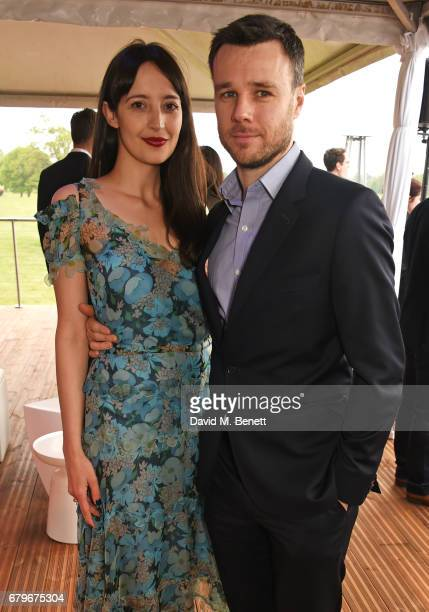 Olivia Bennett and Rupert Evans attend the Audi Polo Challenge at Coworth Park on May 6 2017 in Ascot United Kingdom