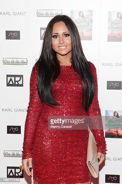 Olivia Blois Sharpe of Jerseylicious hosts 'The Glamour State225 Years Of Stylish Innovation' Book Launch Party on November 20 2012 in Elizabeth New...