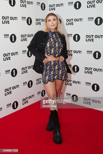 Olivia Bowen attends BBC Radio 1 Out Out! Live 2021 at Wembley Arena on October 16, 2021 in London, England.