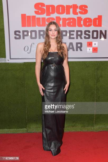 Olivia Brower attends the 2019 Sports Illustrated Sportsperson Of The Year at The Ziegfeld Ballroom on December 09 2019 in New York City