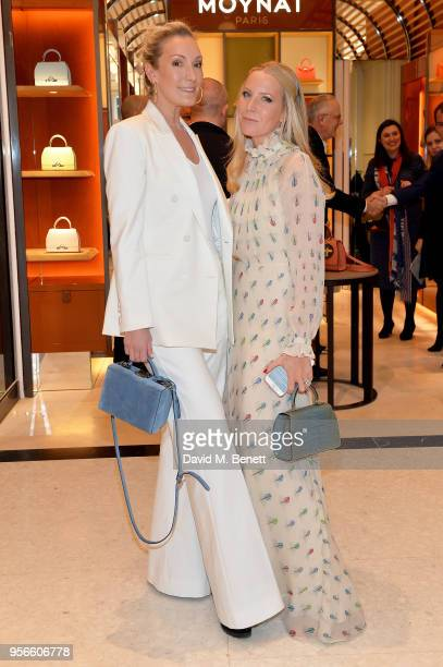 Olivia Buckingham and Alice NaylorLeyland attend the launch party of Moynat at Selfridges on May 9 2018 in London England