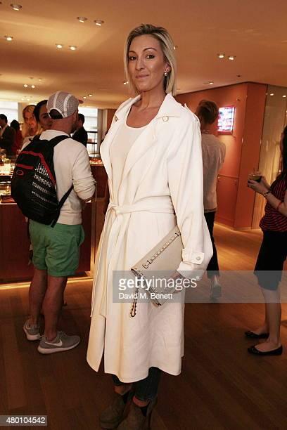 Olivia Buckingham attends the launch of new fragrance 'Le Jardin De Monsieur Li' by Hermes Paris hosted by Mr Fogg's of Mayfair at the Hermes Bond...