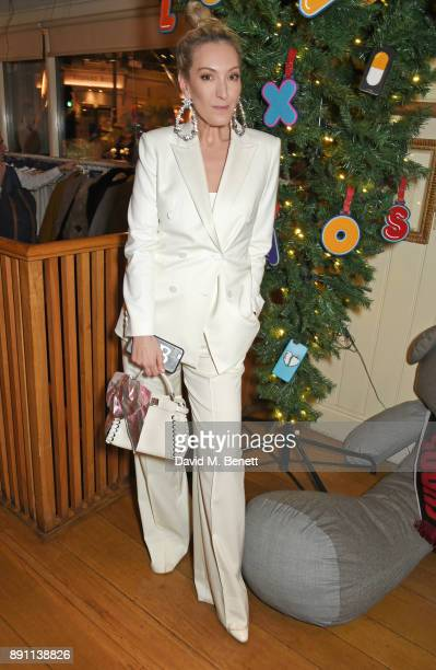 Olivia Buckingham attends the Love x Chaos x Poppy Delevingne x Moet Christmas Party at George on December 12 2017 in London England