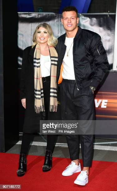 Olivia Buckland and Alex Bowen attending the World Premiere of Fast Furious Live held at the 02 Peninsula Square London Picture Date Friday 19th...