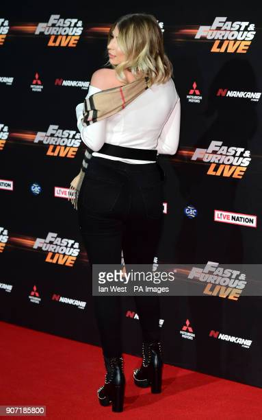 Olivia Buckland attending the World Premiere of Fast Furious Live held at the 02 Peninsula Square London Picture Date Friday 19th January 2018 Photo...
