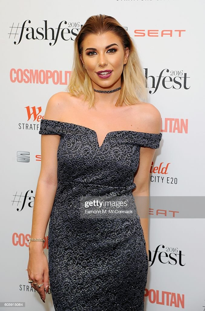 Olivia Buckland attends Cosmopolitan #Fashfest 2016 VIP show and party at Old Billingsgate Market on September 15, 2016 in London, England.