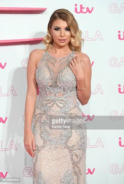 Olivia Buckland attends the ITV Gala at London Palladium on November 24 2016 in London England