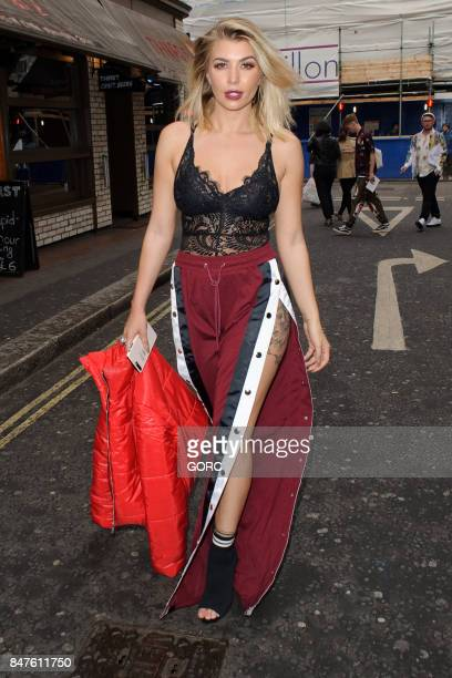 Olivia Buckland seen at Jayne Pierson during London Fashion Week September 2017 on September 15 2017 in London England